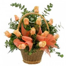Nights to Love - 12 Stems Basket
