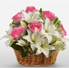 Sentimental Surprise Arrangement Basket