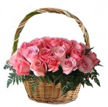Passion for Pink - 24 Stems Basket