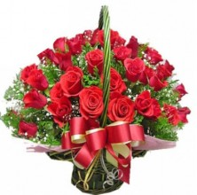 Deep Emotions - 36 Stems Basket