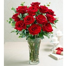 Fresh and Gorgeous - 12 Stems Vase