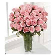 Pink Princess - 36 Stems In Vase