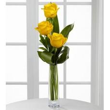Brighten Up - 3 Stems Vase