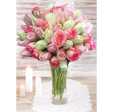 Meaningful Roses - 36 Stems In Vase