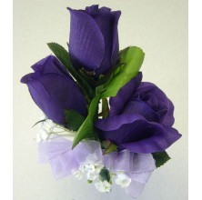Popping Purple - 3 Stems Bouquet