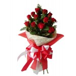 Romantic Rose - 12 Stems Bouquet