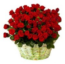 Exquisite Rose - 36 Stems Basket