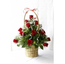 Fresh and Gorgeous - 12 Stems Basket