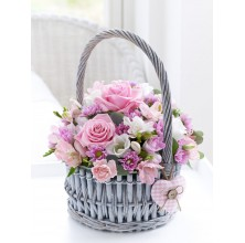 Capture Her - 12 Stems In Basket