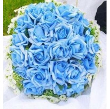Blue Clues - 24 Stems In Bouquet