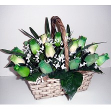 One of a Kind - 36 Stems In Basket