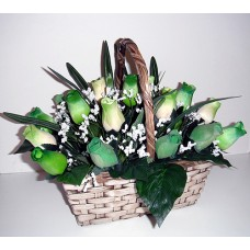 The Color of Your Day - 48 Stems In Basket