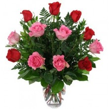 Special Sweetheart - 12 Stems Vase