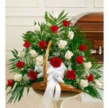 Fairy Tale Romance - 24 Stems Basket