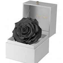 FOREVER BLACK ROSE IN A BOX
