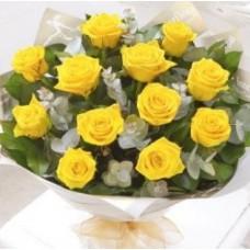 Heavenly Rose - 12 Stems Bouquet