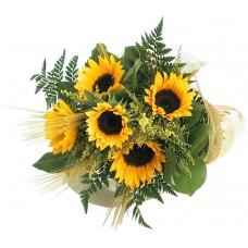 Fall Sunflowers - 5 Stems