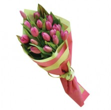 Pink Tulips - 15 Stems