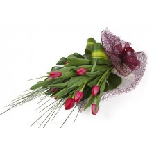 Pinkish Tulips - 12 Stems