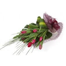 Pinkish Tulips - 12 Stems