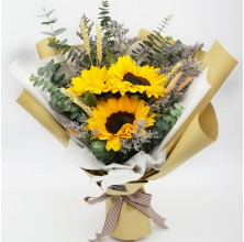 3 pcs Sunflower Bouquet