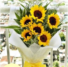 6 pcs Sunflower Bouquet