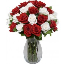 Fairy Tale Romance - 24 Stems Vase