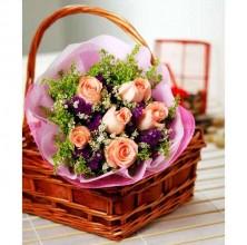 Pink Modernista - 6 Stems Bouquet