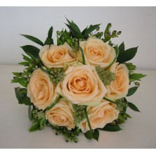 Gorgeous Peach - 6 Stems Bouquet