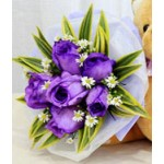 Purple Reign -  6 Stems Bouquet