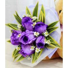 Purple Reign -  6 Stems Bouquet