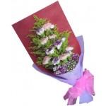 Carnation Hand -10 Stems Bouquet